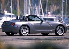 BMW Z4 silver slammed BMW Roadsters & Coupes Pinterest
