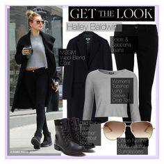 """Hailey Baldwin - Get The Look"" by alexanderbrooks ❤ liked on Polyvore featuring Baldwin, MSGM, Dolce&Gabbana, Topshop, Chloé, GetTheLook, StreetStyle and haileybaldwin"