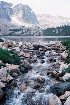 Lake Marie, Medicine Bow National Forest, Wyoming, USA