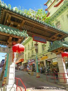 Dragon Gate, Chinatown, San Francisco