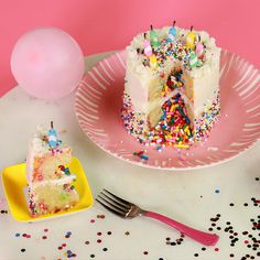How To Throw a Mini Party Mini birthday cakes Sprinkles and