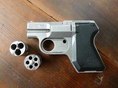 You're not bulletproof... — Cobray Pocket Pal Very interesting little pistol....