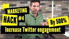 The One Product you Need to Increase your Twitter Engagement by 500% : Marketing Hack #4 - YouTube