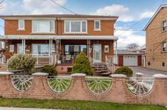 3 BR Semi-Detached #House For #Sale In #Toronto Near Weston & 401.