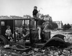 La voiture fondue 1944
