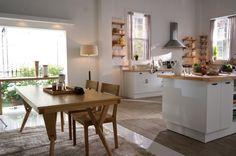 Ideas: Beautiful Wood Dining Table Korean Kitchen Design With Wood Dining Chair Rug Floor Lamp Wood Flooring Also Glass Window: Modern Korean Interior Design Style