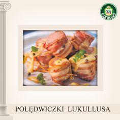 Lukullus przygotował dla Was przepis na polędwiczki z boczku! Polędwiczki Lukullus pokroić w poprzek na kawałki szerokości 5 cm.Boczek Lukullus smarować musztardą, posypać marynowanym pieprzem, owinąć nim polędwiczki, spiąć za pomocą wykałaczek. Masło smażyć z mąką, dolać mleko, a następnie dodać pokrojone pomidory z pieprzem. Podlać polędwiczki, piec ok 20-30 minut w 180°C.  Smacznego!