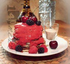 140meter - Pancakes mit Fruchtsoße - yammie