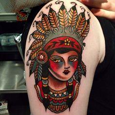 Done by Luke Jinks, tattooist at Cloak and Dagger Tattoo Studio (London), UK TattooStage.com - Rate & review your tattoo artist. #tattoo #tattoos #ink
