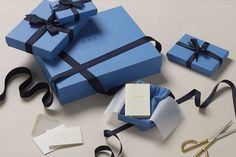 May 2016 know how to create memorable hand crafted gift packaging. With their bespoke milled Nile blue paper enhancing the brands identity whether in store or walking home with your purchase Birthday Gift Cards, Handmade Birthday Cards, Globe Crafts, Cool Clocks, Cute Bedroom Ideas, Christmas Tree With Gifts, Craft Work, Diy Cards, Craft Gifts