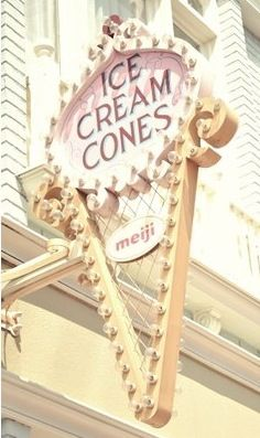 Ice Cream Cones: a must-have in this heat!