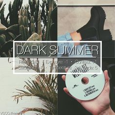 "415 Likes, 8 Comments - vsco themes (@vsco.themes) on Instagram: ""DARK SUMMER 