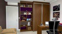 home office escritorio dorm visita  - Galeria de Projetos Promob