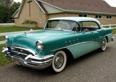 1955 Buick Century Maintenance of old vehicles: the material for new cogs/casters/gears/pads could be cast polyamide which I (Cast polyamide) can produce Old American Cars, American Classic Cars, Retro Cars, Vintage Cars, Antique Cars, Buick Cars, Buick Century, Us Cars, Ford Gt