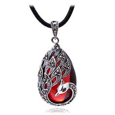 Sterling Silver Vintage Marcasite Accent Phoenix Pendant Imported Red Garnet /White Opal (pendant comes with a black cord) BF,http://www.amazon.com/dp/B00HRJQ8RG/ref=cm_sw_r_pi_dp_xFS0sb19ZREEE0TC