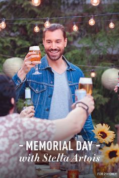 Mix things up this Memorial Day with Stella Artois — take indoors outdoors, invite neighbors you've been meaning to meet, have friends bring their specialty dish. Make this summer a collaboration of ideas, adventures, and culinary creativity. Happy official unofficial beginning of Summer.