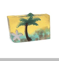 Paradise Sunset - The tropics are at your fingertips with this soap! Enjoy the luscious aromas of coconut and banana.