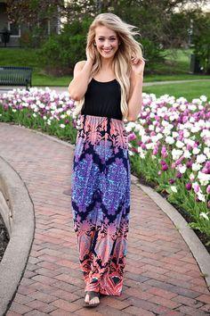 Nashville Nights Maxi Dress – The Pulse Boutique