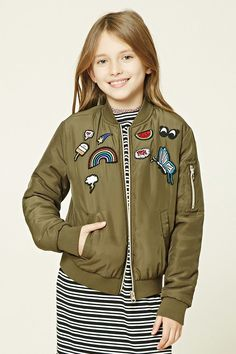 418fc474d 24 Best Girls bomber jacket images in 2018 | Bomber jackets, Jackets ...