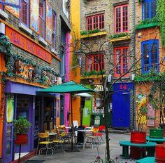 Petite ruelle de Covent Garden The Fancy