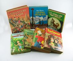 Vintage Childrens Books                       by FineLineTreasures, $39.00