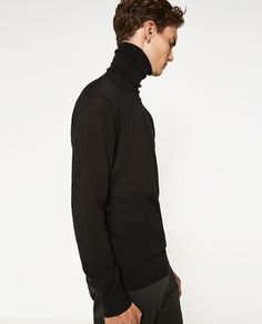 TURTLENECK SWEATER-View all-SWEATERS AND CARDIGANS-MAN | ZARA United States