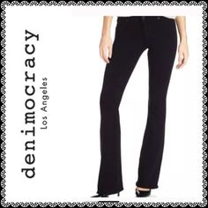 NWT Skinny Jeans Anarchy Black Knit Leggings XXS Super hot skinny jean leggings. An absolute must have in your wardrobe! Size XXS  The Anarchy Knit Skinny perfectly molds to the body from waist to ankle, creating a sexy and flattering silhouette. It is made of an extremely comfortable knit fabric with jean-like construction. Size Conversion: XXS: 22/23  XS: 23/24 S: 25/26 M: 27/28 L: 29/30 XL: 31/32 Specs: Rise: 8″ Inseam: 31″ Leg Opening: 8.5″ Denimocracy Jeans Skinny