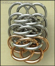 Viperscale, Chainmaille Tutorial -CGMaille