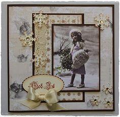 Noen julekort laget på bestilling:) Bling, stempel og blonde fra Kort og godt. Marianne swirl og mønsterark fra Riddersholm design. Dette ...