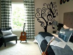music themed teen room 19 photos of the girls room decorating ideas for tomboy character