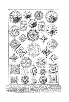 Free Clip Art and Digital Collage Sheet - Magyar Ornament Chain Stitch Embroidery, Embroidery Stitches, Embroidery Patterns, Hungarian Embroidery, Folk Embroidery, Arabesque, Stitch Head, Oriental, Ethnic Patterns