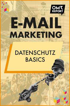 Basics für alle, die E-Mail-Marketing betreiben Insurance Marketing, E-mail Marketing, Content Marketing Strategy, Business Marketing, Marketing And Advertising, Online Business, E Mail Template, Newsletter Template, Personal Branding