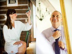 Durango, Colorado Wedding Photography - Contrasting pairings in album