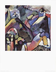 Kandinsky- Improvisation 9
