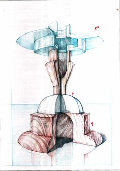 Architecture drawing and sketches vladbucur.ro
