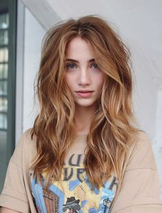 7 fall hair color trends you about L.- 7 Fall Hair Color Trends you about L. Blond Ombre, Brown Blonde Hair, Ombre Hair, Balayage Hair, Auburn Balayage, Dark Strawberry Blonde Hair, Copper Blonde Hair, Strawberry Hair Color, Strawberry Blonde Highlights