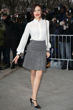 Ольга Куриленко, Неделя моды в Париже