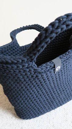 Torby ręcznie robione na szydełku i na drutach | Siedlisko