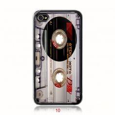 Retro Cassette Tape iPhone 4 case or iphone 4s case  $13.89