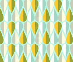 April Showers fabric by nadiahassan on Spoonflower - custom fabric