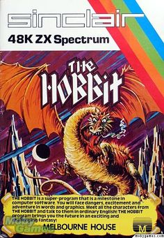 """The Hobbit"" ZX Spectrum Casette Box Art."