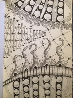 Zentangle 10 - Petra Schneider