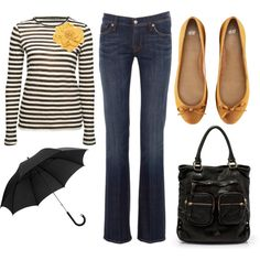 """""""Stripes"""" by mamafolie on Polyvore"""