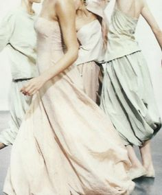 Shot by Peter Lindbergh for Donna Karan S/S 1999 campaign