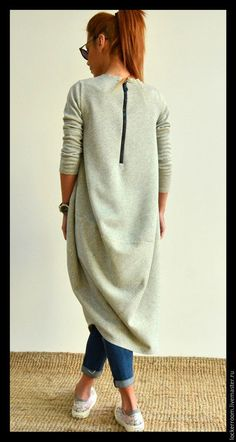 Купить Платье туника Comfort - женское платье, модное платье, туника, женская туника