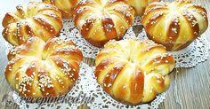 Érdekel a receptje? Kattints a képre! Küldte: trarita Albanian Recipes, Hungarian Recipes, Bread Dough Recipe, Salty Snacks, Diy Food, Cake Recipes, Bakery, Food Porn, Food And Drink
