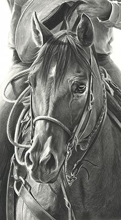 """Hats Off by Mary Ross Buchholz Graphite & Charcoal ~ 18"""" x 10"""""""