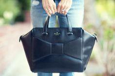 "Girl On The Go | Damsel in Dior @Kat Ellis spade new york ""Beau Bag"""