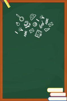 Background Papan Tulis : background, papan, tulis, Papan, Tulis, Tulis,, Kapur,, Desain, Banner