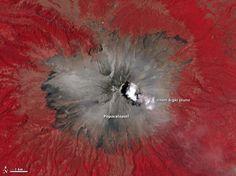 Best image yet of ongoing activity at Popocatépetl volcano